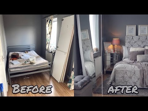 MY GLAM BEDROOM MAKEOVER/ROOM TOUR!