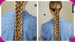 Six Strand Tricky Braid / Trenza Truco de Seis Cabos / Bonita Hair Do