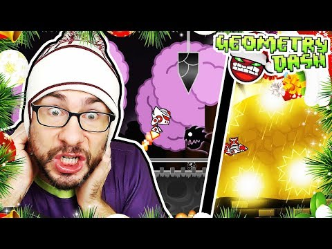 Dark Travel (XXL HARD DEMON) by JonathanGD // Geometry Dash: THE 12 DEMONS OF CHRISTMAS #11