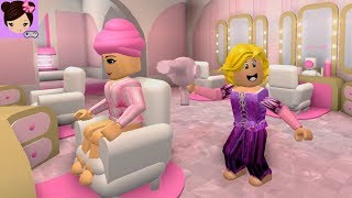 Salon and Spa Roblox Roleplay - Princess Makeover Spa Day - Titi Games