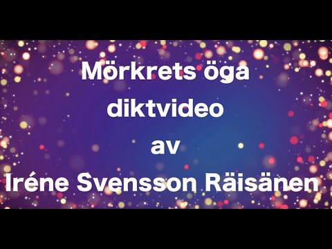 Mörkrets öga juldikt av poeten Iréne Svensson Räisänen