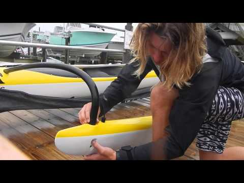 How to Rig your Outrigger Canoe with Carolina Paddleboard Co.
