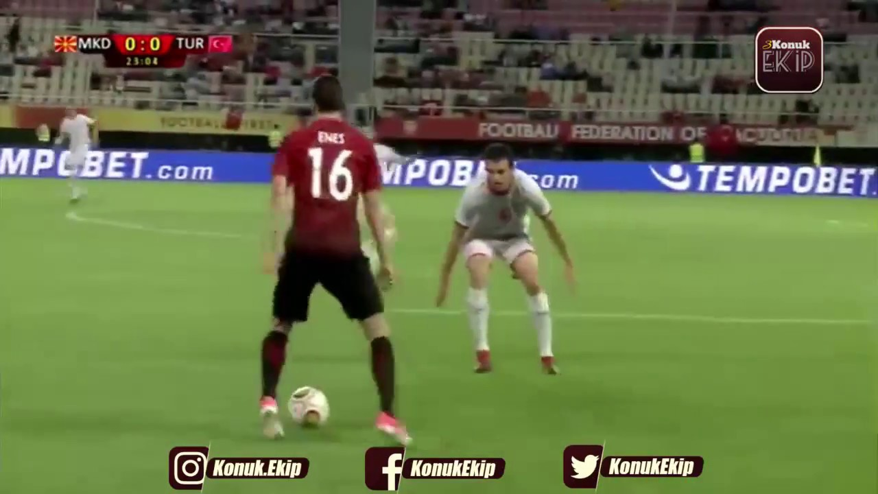 Македония - Турция 0:0 видео