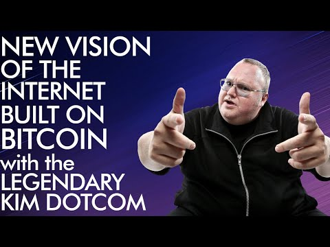 Kim Dotcom Explains The New Vision For The Internet Built On Bitcoin