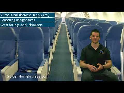Airplane Mode: Fitness and Wellness Tips for Travel During a Long Flight