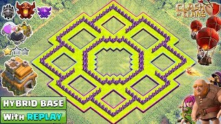 INSANE TH7 TROPHY/FARMING Base 2018 with REPLAY | Town Hall 7 Base Design [DEFENSE] - Clash of Clans