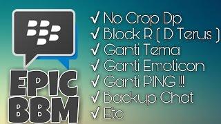 Cara Ganti PING , Tema , Block R , Icon BBM !!!