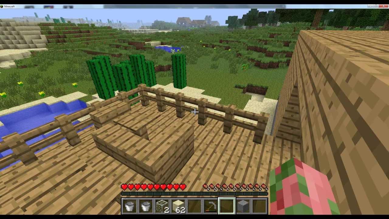 Comment créer une belle maison dans minecraft S1-EP.7 ...