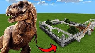 How To Make a T-REX Roller Coaster in Minecraft PE