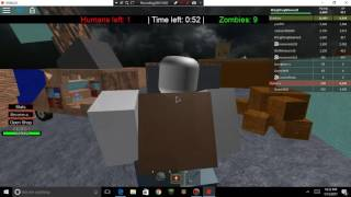 Roblox | Playing with more friends | Humans vs Zombies | Playing with 4+ Friends :) | #2