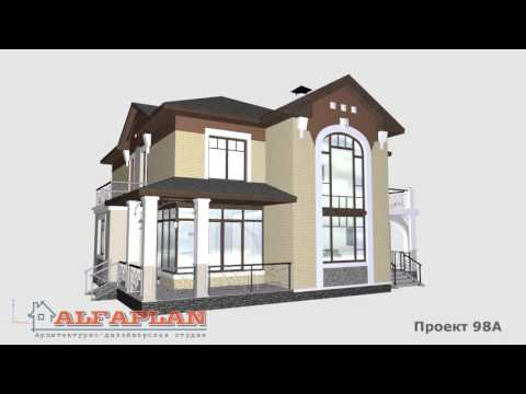 Проект коттеджа 98A Голицын