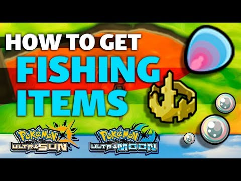 HOW TO GET Prism Scale, King's Rock And Big Pearl In Pokemon Ultra Sun And Moon