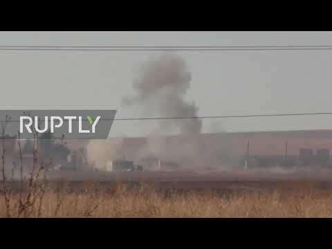 Syria: Clashes between SAA and Turkey-led forces continue in al-Hasakah countryside
