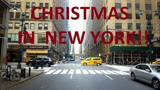 CHRISTMAS IN NEW YORK!!