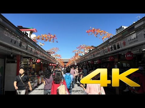Tokyo Asakusa Temple / Sensō-ji -金龍山浅草寺 - 4K Ultra HD
