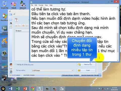 Video Hướng Dẫn Sử Dụng Phần Mềm Format Factory Đổi Đuôi, MP3 MP4 AVI FLV  Vân  Vân