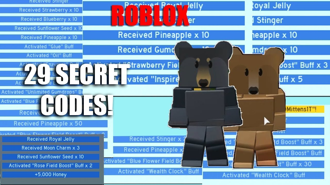roblox codes for bee swarm simulator 2019