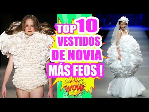 7cc5a9215 Los 10 Vestidos de Novia más Feos y Raros del Mundo! #TopTen SandraCiresArt  - YouTube