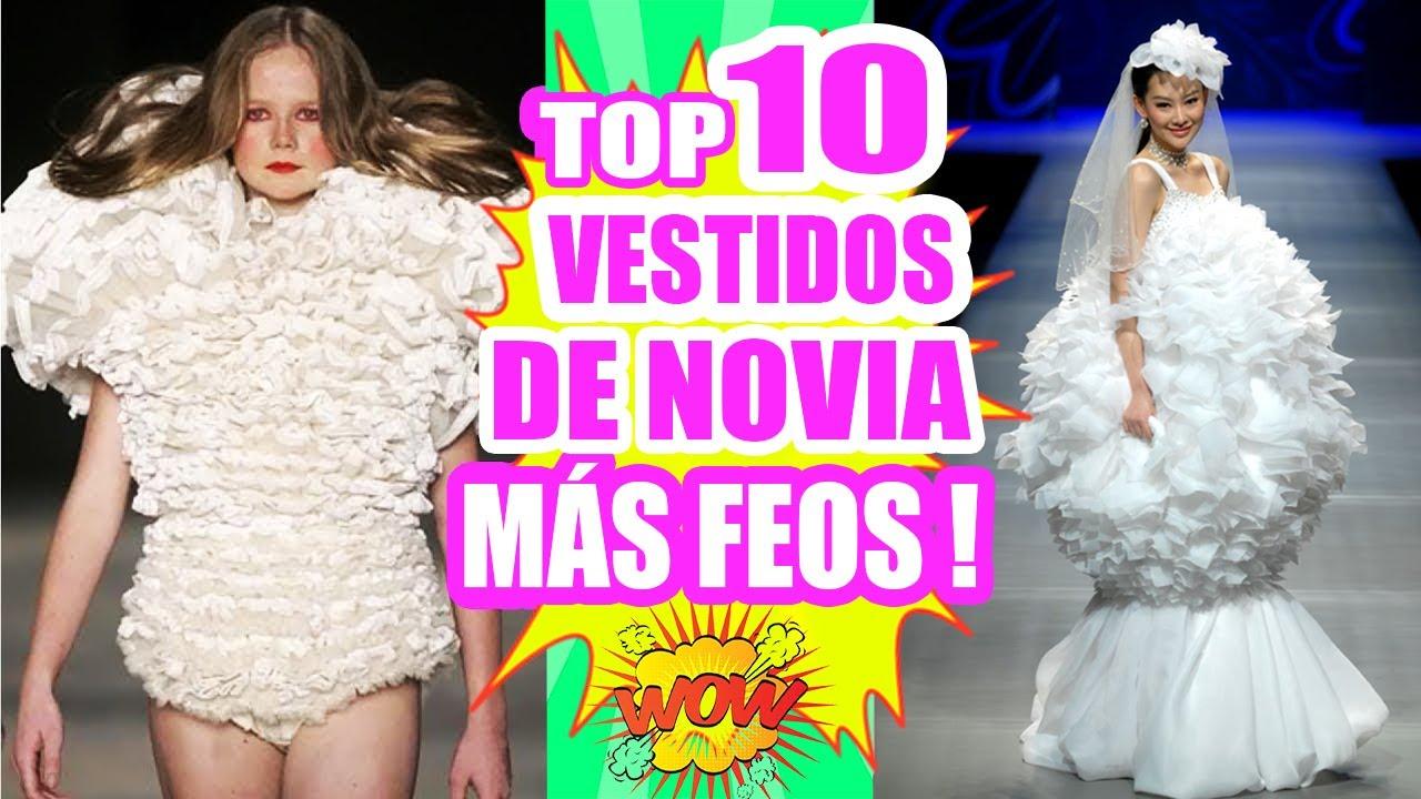Los 10 Vestidos De Novia Más Feos Y Raros Del Mundo Topten Sandraciresart
