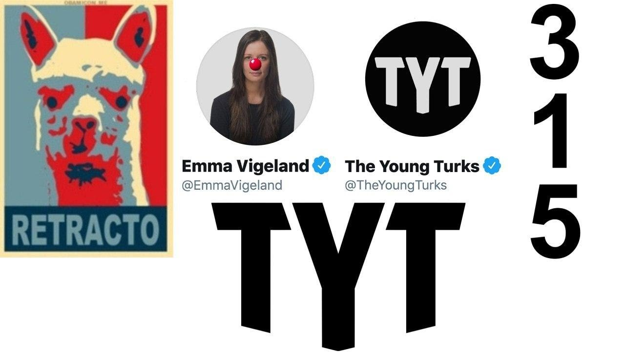 RETRACTION #315: The Young Turks DELETE their own YouTube show!