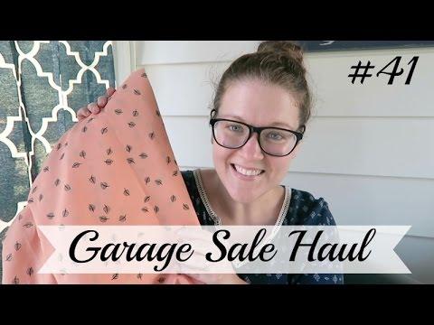 Garage Sale Haul #41 | Vintage Fabric