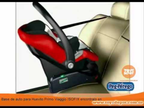 base de auto para huevito primo viaggio peg p rego isofix youtube. Black Bedroom Furniture Sets. Home Design Ideas