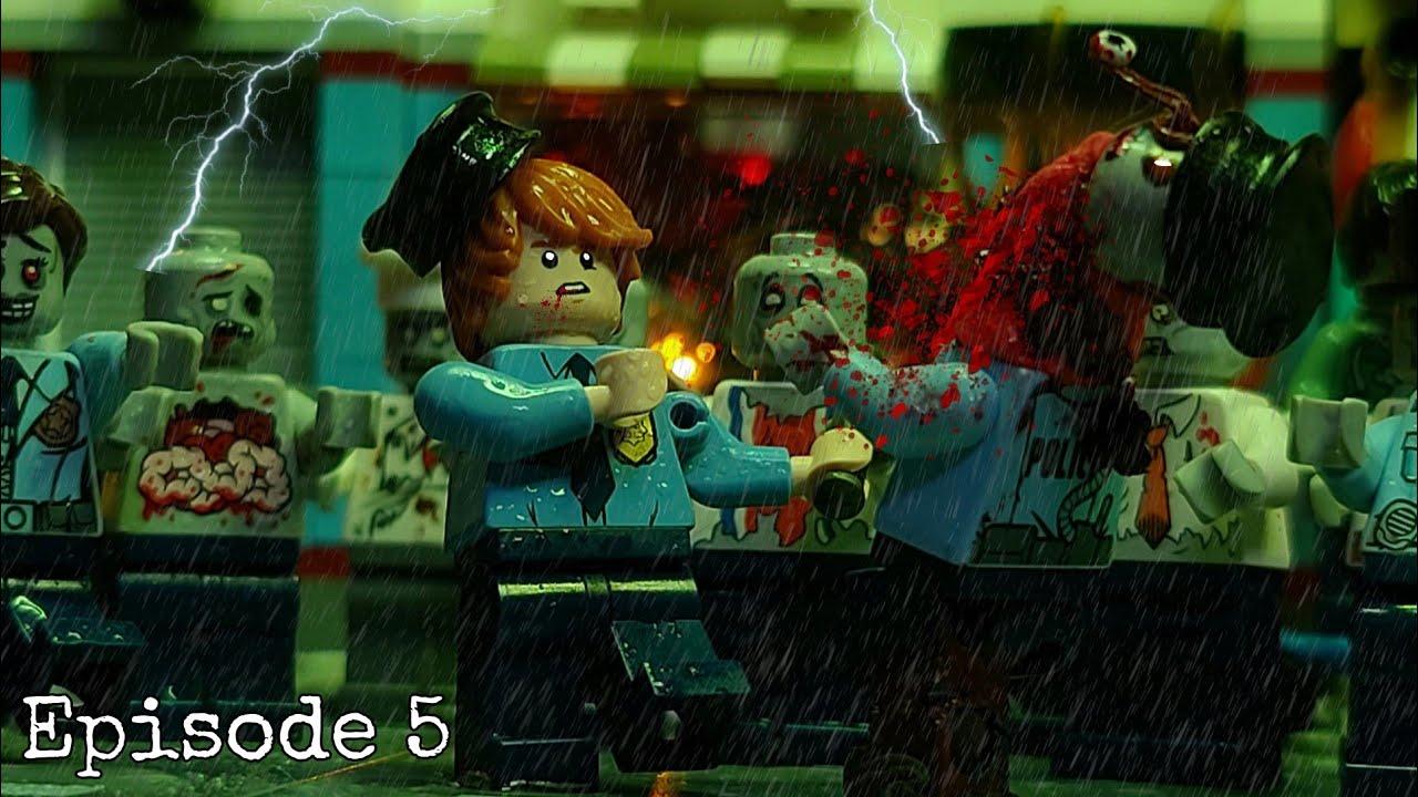 LEGO zombie and psychopath (episode 5) 레고 좀비 그리고 사이코패스 (5화:첫 살인)