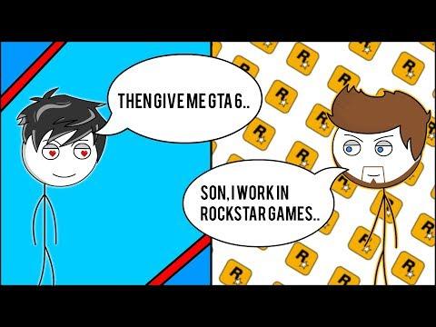 What if Gamer's Dad work in Rockstar Games