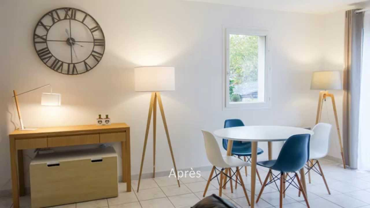 Avant apr s am nagement d coration d 39 int rieur youtube for Amenagement interieur