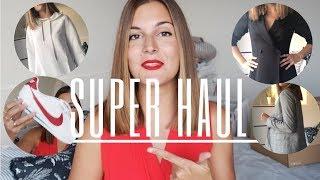 HAUL ZARA H&M MANGO PULL&BEAR | TRY ON | Marilyn's Closet