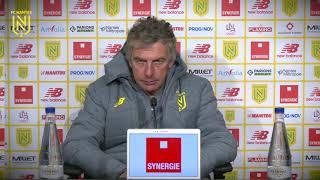 VIDEO: Christian Gourcuff avant Stade Brestois - FC Nantes