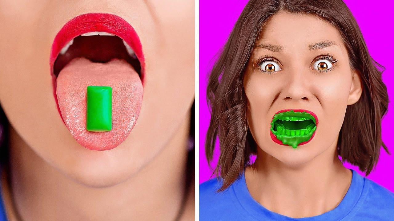 ŞAKA SAVAŞLARI! || 123 GO! SCHOOL'dan Okul Şakaları, Malzemeleri, Yaşam Tüyoları ve Komik Numaralar