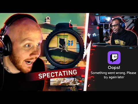 I SPECTATED A STREAMER IN SOLOS... MY CHAT CRASHED HIS PC..