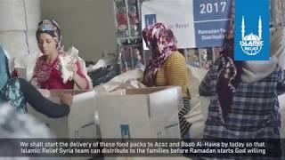 Ramadan Packaging - Syria Food Packs