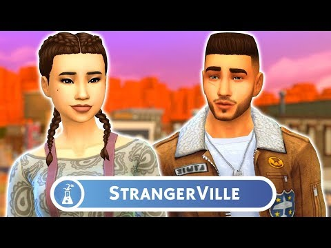 CREATE A SIM OVERVIEW - The Sims 4: StrangerVille | New Game Pack
