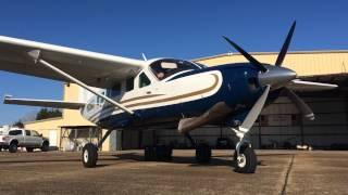 Cessna 208 Caravan Hot Start Up