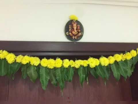 Maa llai thoranam /மாவிலை தோரணம்