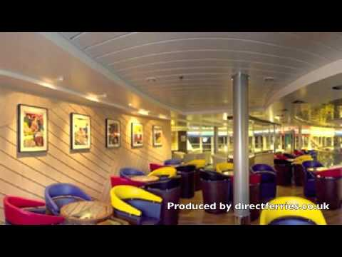 Onboard Pont Aven Ferry With Brittany Ferries