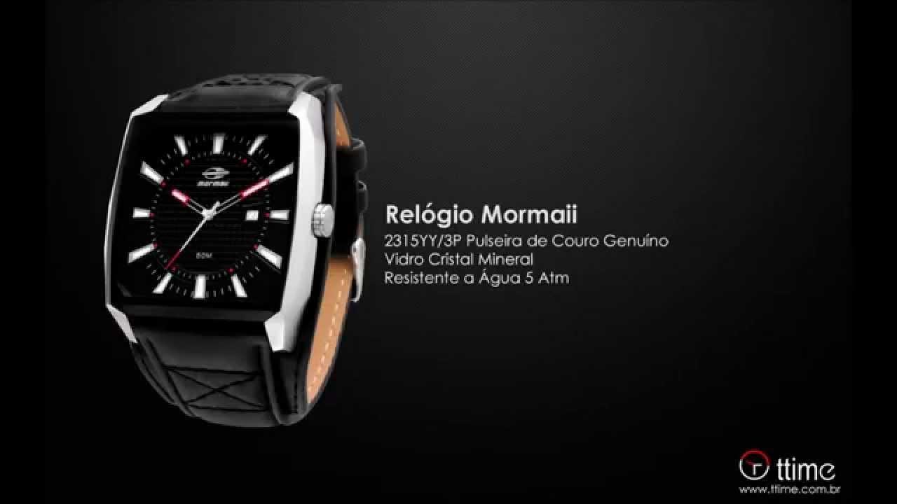 f5f9a0399a4 Relógio Mormaii 2315YY 3P - YouTube