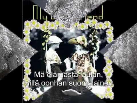 Olen Suomalainen ( Kari Tapio ) with lyrics