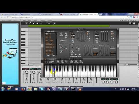 comment transformer le navigateur google chrome en studio  musical