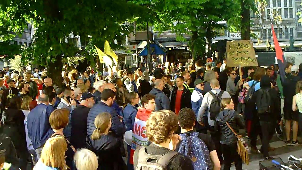 Manifestation anti-fasciste 29 mai 2019 à Liège