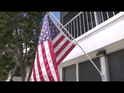 Board Meeting To Be Held After Man Cited For Flying American Flag At Condo Complex