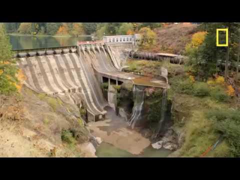Quand on vide un barrage