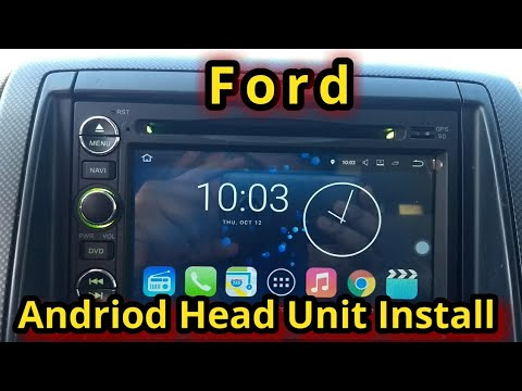 Ford Android Radio Head Unit Install (06-10 Explorer)