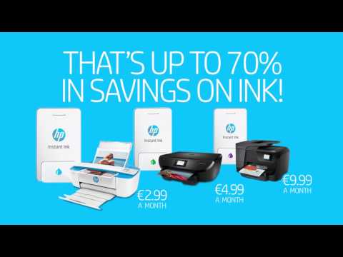 Introducing HP Instant Ink to Ireland! | HP