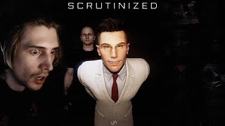 A FUN NEW SCARY GAME! - xQc Plays Scrutinized