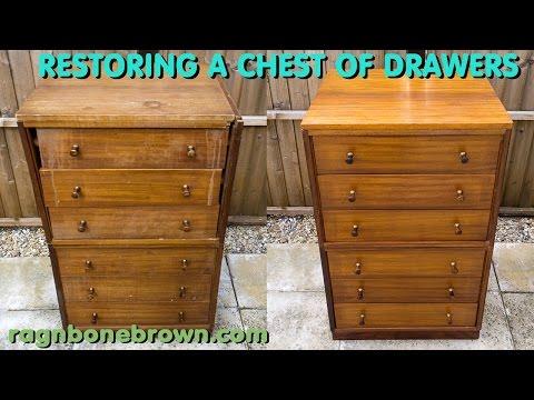 Restoring A Chest Of Drawers - Junk Find Makeover
