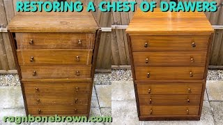 Restoring A Chest Of Drawers - Junk Find Makeover