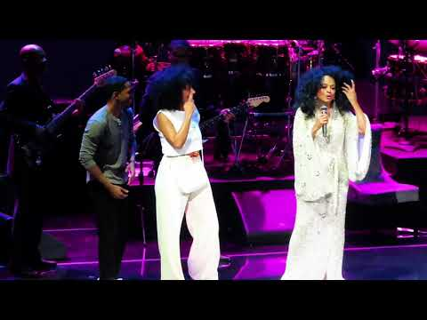 Diana Ross with Tracee Ellis Ross Live in Las Vegas - I Will Survive (Reprise) (June 14, 2019)